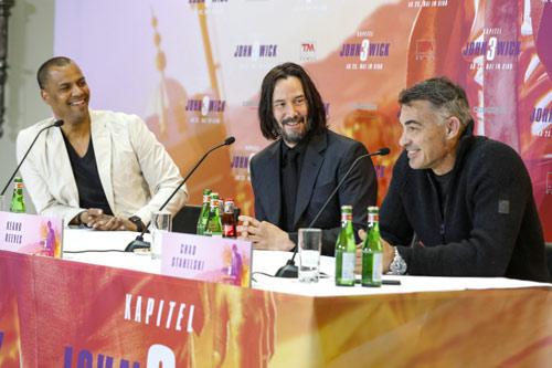 John Wick: Kapitel 3 - Parabellum Pressekonferenz mit Keanu Reeves und Chad Stahelski