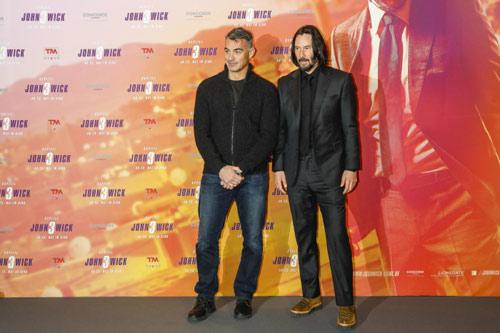 John Wick: Kapitel 3 - Parabellum Photocall mit Chad Stahelski und Keanu Reeves