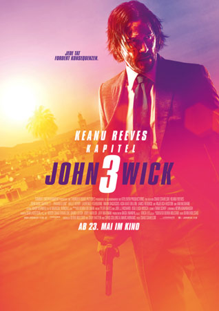 John Wick: Kapitel 3 deutsches Kinoplakat