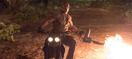 Jumanji - Willkommen im Dschungel mit Dwayne Johnson