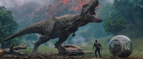 Jurassic World 2 mit T-Rex