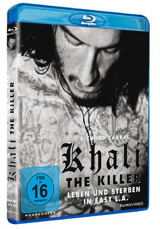 Khali the Killer Blu-ray Cover