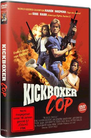 Kickboxer Cop DVD Cover