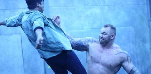 Kickboxer - Die Abrechnung mit The Mountain / Berg aus Game of Thrones