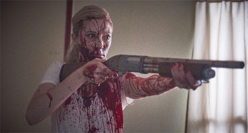 Alexandra Feld liebt es als Kate zu killen