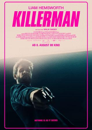 Killerman deutsches Poster