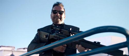 Killing Gunther mit Arnold Schwarzenegger