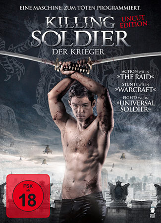 Killing Soldier mit Chris Mark DVD Cover