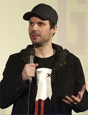 Krystof Zlatnik der Regisseur von Immigration Game
