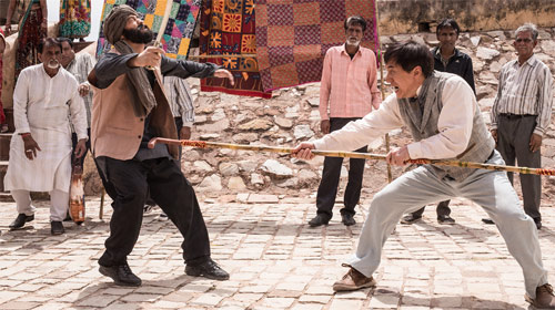 Kung Fu Yoga Jackie Chan in Action