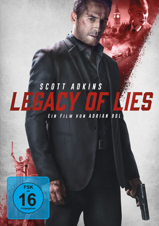 Legacy of Lies mit Scott Adkins DVD Cover