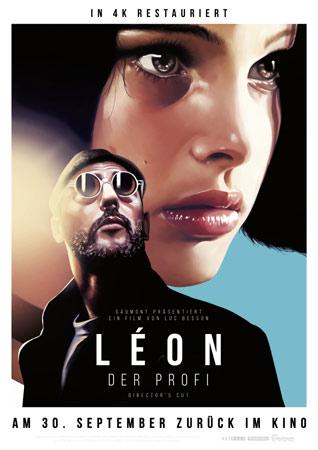 Leon – Der Profi deutsches Plakat