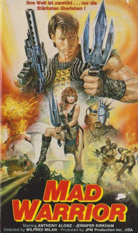 Mad Warrior VHS Cover