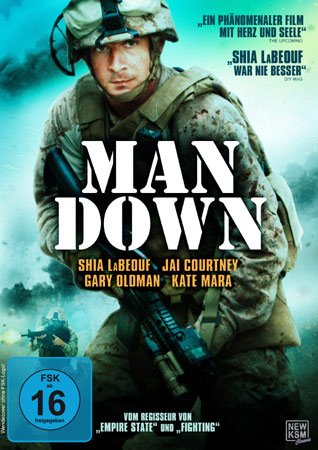 Man Down Deutsches DVD Cover Gewinnspiel