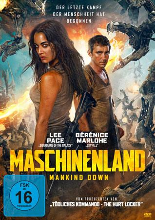 Maschinenland Deutsches Cover
