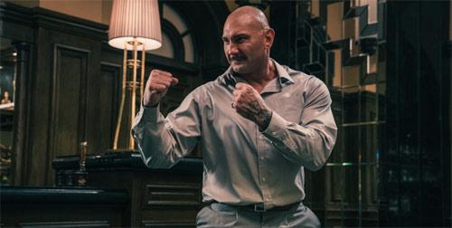 Dave Bautista als Bösewicht