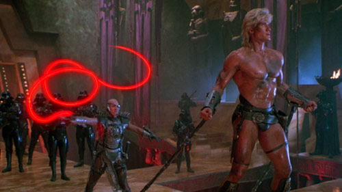 Dolph Lundgren als He-Man in Masters of the Universe