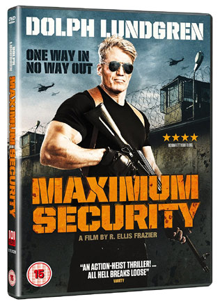Maximum Security Larceny Cover