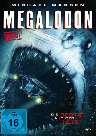 Megalodon mit Michael Madsen DVD Cover