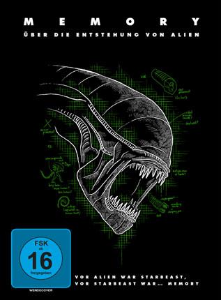 Memory - Über die Entstehung von Alien dvd cover