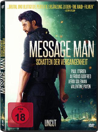 Message Man: Schatten der Vergangenheit Cover