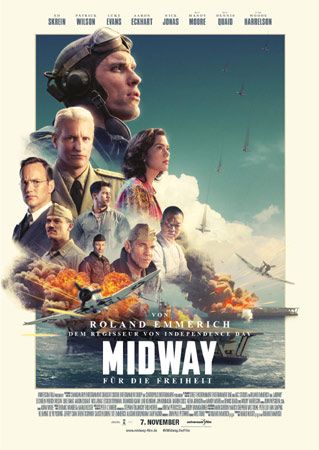 Midway - Für die Freiheit von Roland Emmerich Poster