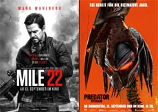 Mile 22 und Predator Upgrade