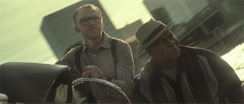 Mission: Impossible - Fallout mit Simon Pegg und Ving Rhames