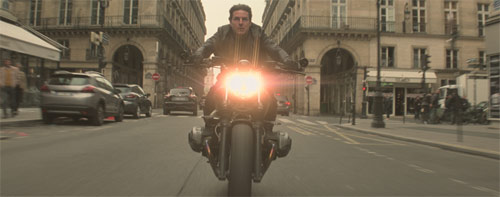 Mission: Impossible - Fallout mit Tom Cruise auf Motorrad