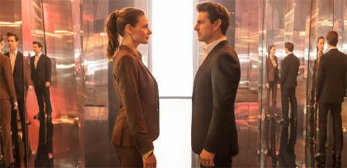 Mission: Impossible - Fallout mit Tom Cruise und Rebecca Ferguson