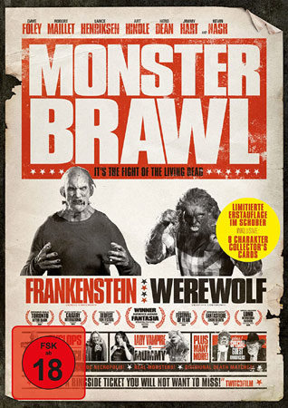 Monster Brawl mit Lance Henriksen DVD Cover