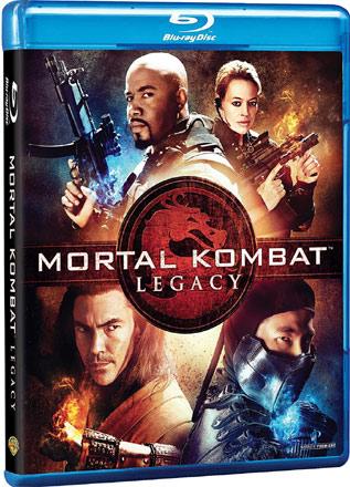Mortal Kombat: Legacy mit Michael Jai White Blu-ray Cover Webserie