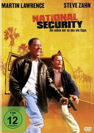 National Security DVD Cover
