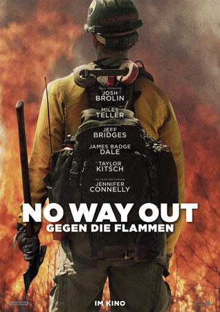 No Way Out – Gegen die Flammen Filmplakat