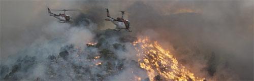 No Way Out – Gegen die Flammen Helikopter im Einsatz