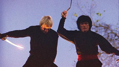 Action mit Ninjas und Chuck Norris