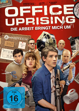 Office Uprising DVD Cover