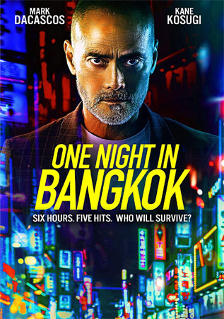 One Night in Bangkok mit Mark Dacascos DVD Cover