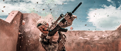 Operation Red Sea Sniper-Action