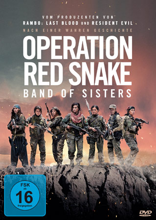 Operation Red Snake deutsches DVD Cover