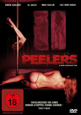 Peelers Zombies Stripperinnen Splatter Cover