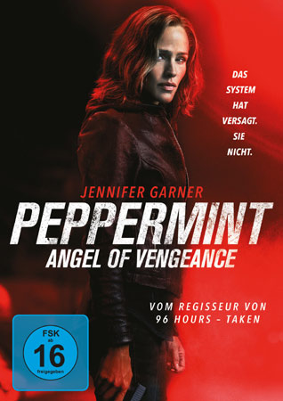 Peppermint deutsches DVD Cover