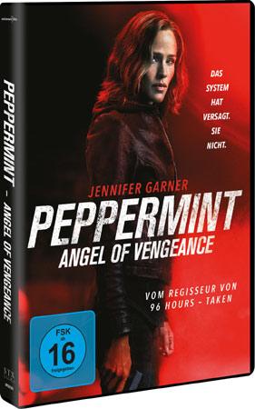 Peppermint deutsches DVD Cover Gewinnspiel