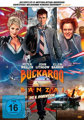Buckaroo Banzai mit Peter Weller
