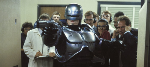 Robocop Peter Weller Schießtraining