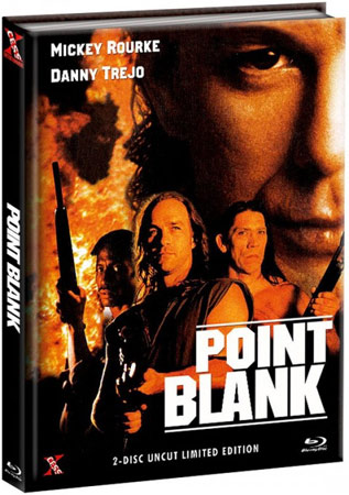 Point Blank mit Mickey Rourke Mediabook Cover
