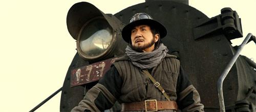 Railroad Tigers Jackie Chan auf Zug