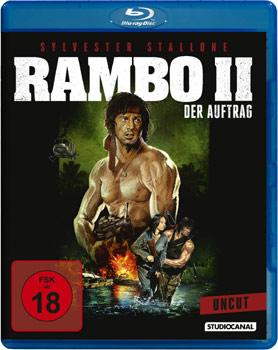 Rambo 2 mit Sly Stallone