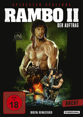 Rambo II DVD Cover