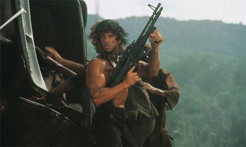 Rambo II mit Sylvester Stallone als Rambo